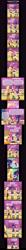 Size: 1384x13500   Tagged: safe, artist:sapphiregamgee, applejack, sci-twi, sour sweet, spike, twilight sparkle, equestria girls, friendship games, comic, measuring tape
