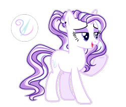 Size: 1983x1676 | Tagged: safe, artist:twinklecometyt, oc, pony, unicorn, female, magical lesbian spawn, mare, offspring, parent:fleur-de-lis, parent:starlight glimmer, simple background, solo, transparent background