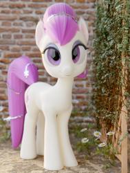 Size: 1635x2160 | Tagged: safe, artist:gabe2252, fleur de verre, crystal pony, solo, vine