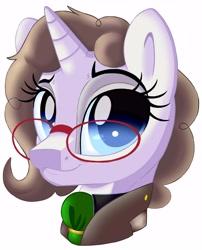 Size: 4850x6000 | Tagged: safe, artist:pokemonfan111, unicorn, bust, cute, digital art, female, head, solo