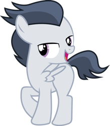Size: 836x956 | Tagged: safe, artist:frownfactory, edit, editor:undeadponysoldier, vector edit, rumble, pegasus, pony, adorasexy, bedroom eyes, colt, cute, male, raised hoof, rumblebetes, sexy, simple background, solo, stupid sexy rumble, transparent background, vector