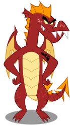 Size: 3341x6000 | Tagged: safe, artist:dashiesparkle, artist:timmy_22222001, edit, garble, princess ember, dragon, decal, kneeling, silhouette, simple background, solo, tattoo, teenaged dragon, transparent background, vector