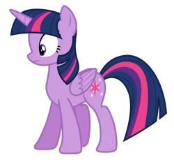Size: 1280x1171 | Tagged: safe, artist:estories, twilight sparkle, alicorn, pony, simple background, solo, transparent background, twilight sparkle (alicorn), vector