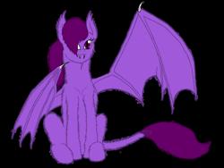 Size: 1280x960 | Tagged: safe, artist:petunedrop, oc, oc only, oc:stormfly, bat pony, bat pony oc, bat wings, digital art, simple background, solo, transparent background, wings