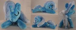 Size: 4954x2000   Tagged: safe, artist:bastler, trixie, pony, unicorn, female, irl, mare, photo, plushie, sleeping