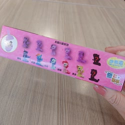 Size: 2048x2048 | Tagged: safe, artist:rai_ra, applejack, fluttershy, pinkie pie, rainbow dash, rarity, twilight sparkle, alicorn, food, ice cream, irl, japan, japanese, photo, toy, twilight sparkle (alicorn)