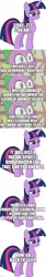 Size: 500x2973 | Tagged: safe, artist:cloudyglow, artist:spyro4287, edit, edited screencap, screencap, vector edit, spike, twilight sparkle, alicorn, caption, comic, image macro, implied cozy glow, implied lord tirek, implied princess luna, implied queen chrysalis, screencap comic, text, twilight sparkle (alicorn), vector