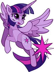Size: 1126x1517 | Tagged: safe, artist:sunbusting, twilight sparkle, alicorn, pony, cutie mark, female, mare, open mouth, simple background, solo, spread wings, stained glass, transparent background, twilight sparkle (alicorn), wings