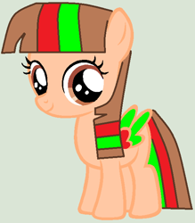 Size: 560x638 | Tagged: safe, artist:twidashfan1234, oc, oc only, oc:firefly solstice, pegasus, base used, female, filly, solo