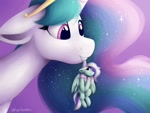 Size: 900x675 | Tagged: safe, artist:smallhorses, princess celestia, oc, alicorn, pegasus, female, giantess, giantlestia, gt, macro, micro, tiny