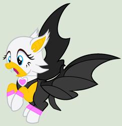 Size: 1048x1080   Tagged: safe, artist:twidashfan1234, bat pony, rouge the bat, sonic the hedgehog (series)