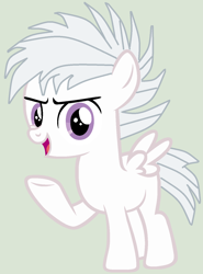 Size: 1060x1436 | Tagged: safe, artist:twidashfan1234, ghost, ghost pony, pegasus, pony, undead, boo, colt, gray background, male, ponified, simple background, solo, species swap, super mario bros., white