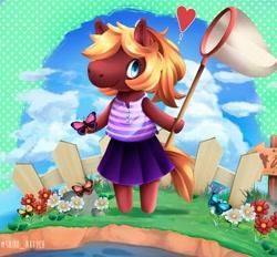 Size: 4000x3711 | Tagged: safe, artist:shiro_art, pony, animal crossing, villager
