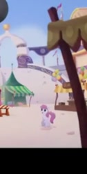 Size: 244x483 | Tagged: safe, screencap, earth pony, pony, my little pony: the movie, background pony, cropped, female, mare, shocked, unnamed character, unnamed pony, we got this together