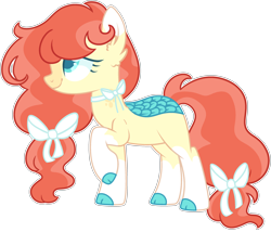 Size: 2760x2358 | Tagged: safe, artist:kurosawakuro, oc, oc only, kirin, base used, female, interspecies offspring, magical lesbian spawn, offspring, parent:autumn blaze, parent:fluttershy, parents:autumnshy, simple background, solo, transparent background