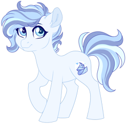 Size: 1024x990 | Tagged: safe, artist:azure-art-wave, oc, oc:whipped meringue, earth pony, pony, female, mare, simple background, solo, transparent background
