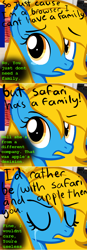 Size: 640x1832 | Tagged: safe, artist:furrgroup, oc, oc:internet explorer, pony, ask internet explorer, browser ponies, crying, internet explorer, misspelling, solo