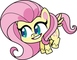 Size: 6000x4679 | Tagged: safe, artist:twilirity, fluttershy, pony, my little pony: pony life, absurd resolution, simple background, solo, transparent background
