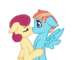 Size: 1000x830 | Tagged: safe, artist:3d4d, posey shy, windy whistles, female, infidelity, kissing, lesbian, shipping, windyshy