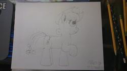 Size: 512x288 | Tagged: safe, artist:lightningdash3804, wildwood flower, earth pony, pony, solo