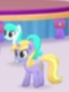 Size: 69x92 | Tagged: safe, screencap, melody star, earth pony, pony, unicorn, my little pony: the movie, background pony, cropped, duo focus, female, happy, mare, picture for breezies, singing, unnamed character, unnamed pony, walking, we got this together