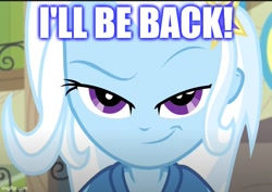 Size: 613x435 | Tagged: safe, edit, edited screencap, screencap, trixie, equestria girls, equestria girls series, forgotten friendship, reference, terminator