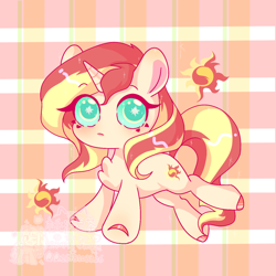 Size: 1280x1280 | Tagged: safe, artist:桃沢夏茶, sunset shimmer, pony, unicorn, colored hooves, colored pupils, cute, cutie mark, cutie mark eyes, female, mare, shimmerbetes, solo, wingding eyes