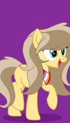 Size: 764x1340 | Tagged: safe, artist:circuspaparazzi5678, oc, oc:honey sweets, earth pony, pony, bandana, base used, female, freckles, lesbian, lesbian flag, parent:applejack, parent:caramel, solo