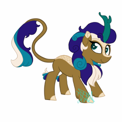 Size: 1280x1280 | Tagged: safe, artist:chelseawest, oc, oc:sapphire star, kirin, female, high res, simple background, solo, transparent background