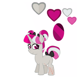Size: 2000x2000 | Tagged: safe, artist:chelseawest, oc, oc:rose quartz, pony, unicorn, female, filly, high res, simple background, solo, transparent background