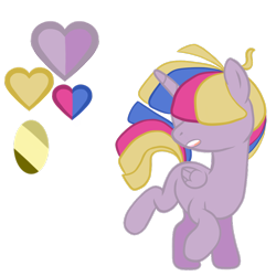 Size: 1000x1000 | Tagged: safe, artist:chelseawest, oc, oc:bubble, alicorn, pony, colt, male, simple background, solo, transparent background