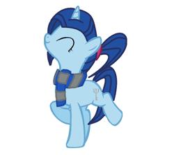 Size: 884x788 | Tagged: safe, artist:marta4708, oc, oc:marta clures, unicorn, eyes closed, horn, solo, unicorn oc