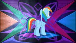 Size: 3840x2160 | Tagged: safe, artist:dashiesparkle edit, artist:laszlvfx, edit, rainbow dash, pony, butt, plot, rainbutt dash, solo, wallpaper, wallpaper edit