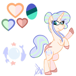 Size: 1000x1000 | Tagged: safe, artist:chelseawest, oc, oc:ocean weaver, pony, unicorn, female, mare, simple background, solo, transparent background