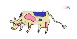 Size: 2201x1125 | Tagged: safe, artist:nicolassantiago2004, edit, screencap, bon bon, sweetie drops, cow, animal, cowified, species swap