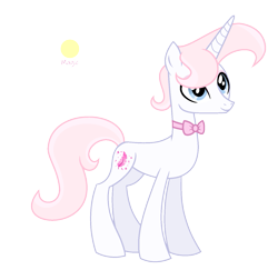 Size: 1433x1393   Tagged: safe, artist:darbypop1, oc, oc:feather dust, pony, unicorn, bowtie, male, simple background, solo, stallion, transparent background