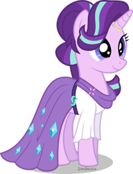 Size: 1280x1671 | Tagged: safe, artist:limedazzle, starlight glimmer, pony, clothes, cute, dress, glimmerbetes, simple background, solo, transparent background, vector, wedding dress