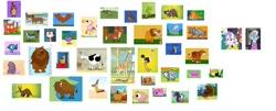 Size: 1280x516   Tagged: safe, artist:nicolassantiago2004, edit, diamond tiara, silver spoon, aardvark, bear, beaver, big cat, bird, blue jay, buffalo, cat, chicken, chipmunk, cow, duck, eagle, flamingo, fox, frog, gazelle, giraffe, goat, hawk, leopard, lion, ostrich, owl, parrot, pig, porcupine, rabbit, raccoon, sheep, snake, snow leopard, squirrel, tiger, tortoise, toucan, turkey, equestria girls, animal, dachshund, piglet, udder