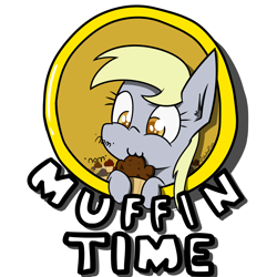 Size: 4000x4000 | Tagged: safe, artist:professionalpuppy, derpy hooves, pegasus, eating, food, muffin, nom, simple background, solo, transparent background