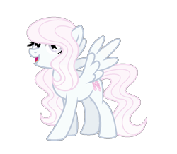 Size: 991x863 | Tagged: safe, artist:darbypop1, oc, oc:bella bambina, pegasus, pony, female, mare, simple background, solo, transparent background