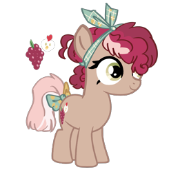 Size: 1651x1684 | Tagged: safe, artist:spectrumnightyt, pony, bow, female, filly, offspring, parent:cheese sandwich, parent:pinkie pie, parents:cheesepie, simple background, solo, tail bow, transparent background