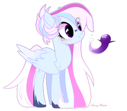 Size: 1418x1238 | Tagged: safe, oc, pegasus, pony, base used, eye clipping through hair, female, magical lesbian spawn, mare, next generation, offspring, parent:rainbow dash, parent:twilight sparkle, parents:twidash, simple background, solo, transparent background