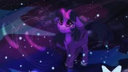 Size: 1920x1080 | Tagged: safe, artist:hierozaki, twilight sparkle, alicorn, pony, female, floppy ears, solo, twilight sparkle (alicorn)