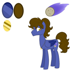Size: 4000x4000 | Tagged: safe, artist:chelseawest, oc, oc:celestial comet, pegasus, pony, absurd resolution, male, simple background, solo, stallion, transparent background, two toned wings, wings