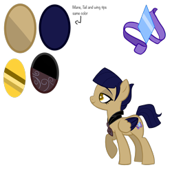Size: 4000x4000 | Tagged: safe, artist:chelseawest, oc, oc:azure jewel, pegasus, pony, absurd resolution, female, mare, reference sheet, simple background, solo, transparent background, two toned wings, wings