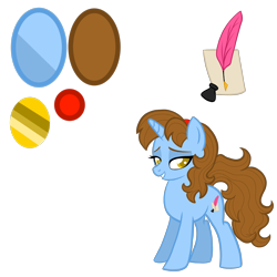 Size: 4000x4000 | Tagged: safe, artist:chelseawest, oc, oc:poetic song, pony, unicorn, absurd resolution, female, mare, reference sheet, simple background, solo, transparent background
