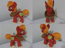Size: 1597x1199 | Tagged: safe, artist:little-broy-peep, big macintosh, pony, irl, photo, plushie, solo