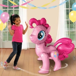 Size: 564x564 | Tagged: safe, pinkie pie, earth pony, human, irl, irl human, photo, target demographic