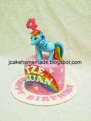 Size: 600x800 | Tagged: safe, rainbow dash, cake, food, irl, photo