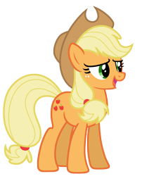 Size: 5311x6586 | Tagged: safe, artist:estories, applejack, earth pony, pony, absurd resolution, simple background, solo, transparent background, vector